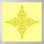 Oro de la cruz céltica 5 posters