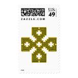 Oro de la cruz céltica 8 sello