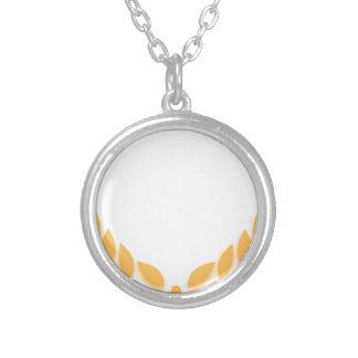 Oro de la guirnalda del laurel grimpola personalizada