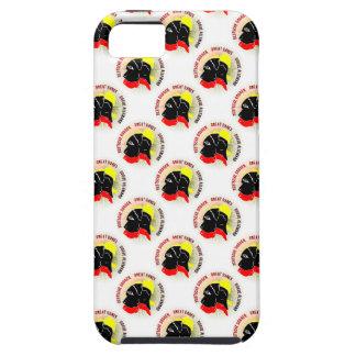 Oro de la putrefacción de Deutsche Doggen Schwarz iPhone 5 Case-Mate Protectores