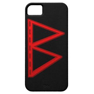 Oro de la runa de Berkano iPhone 5 Funda