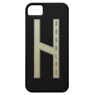 Oro de la runa de Hagalaz iPhone 5 Carcasas