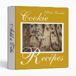 Oro de las recetas de la galleta
