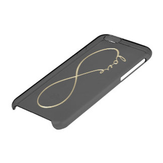 Oro de Lemniscate del amor del infinito + su Funda Clearly™ Deflector Para iPhone 6 De Uncommon