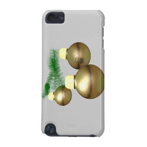 Oro de los ornamentos funda para iPod touch 5G