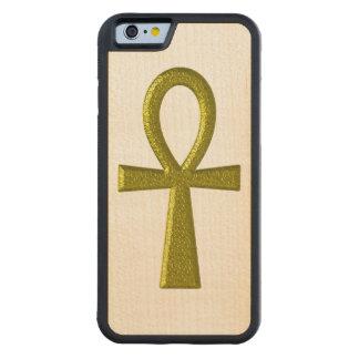 Oro de lujo Ankh Funda De iPhone 6 Bumper Arce