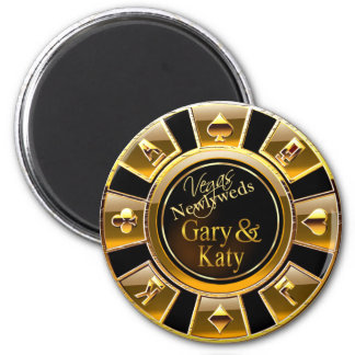 Oro de lujo de Las Vegas y favor negro del micropr Iman