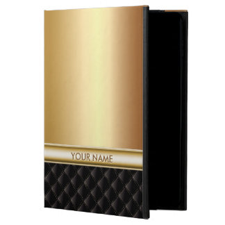 Oro de lujo moderno con nombre de encargo