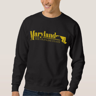 Oro de Maryland Sudaderas Encapuchadas