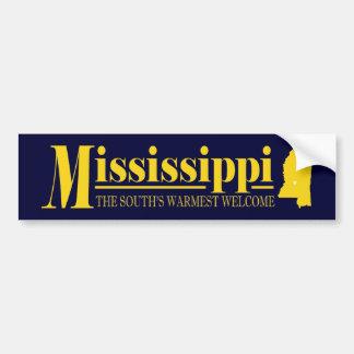 Oro de Mississippi Pegatina Para Auto