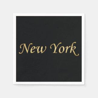 Oro de Nueva York - en negro