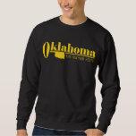 Oro de Oklahoma Sudadera Con Capucha
