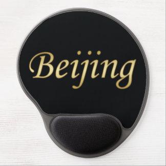 Oro de Pekín - inglés - en negro Alfombrilla Gel