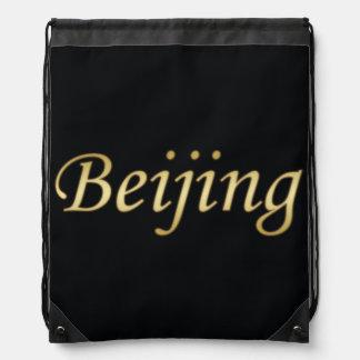 Oro de Pekín - inglés - en negro Mochilas