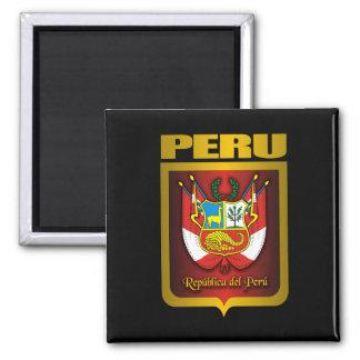 """""""Oro de Perú """" Imán Cuadrado"""