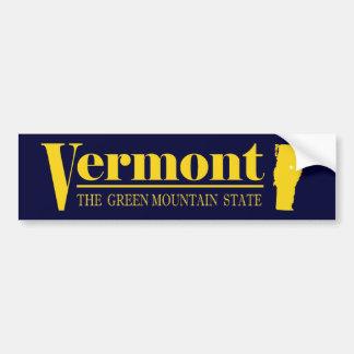 Oro de Vermont Pegatina Para Auto