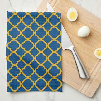 Oro de WV y esquema azul Toallas De Cocina