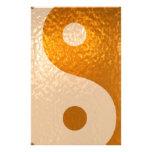 Oro de YinYANG - balanza de Yin Yang Papeleria De Diseño
