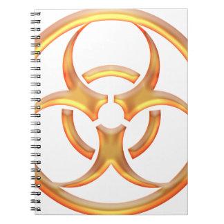 Oro del Biohazard Cuaderno