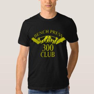 Oro del club de la prensa de banco 300 camisas