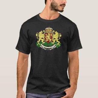 Oro del escudo de armas de Bulgaria Playera