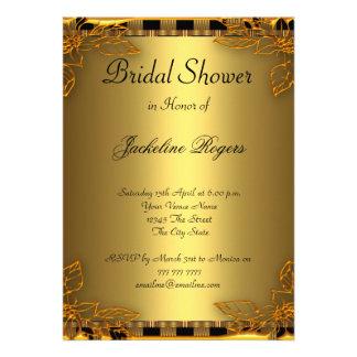 Oro del fiesta de ducha y marco nupciales del oro comunicado
