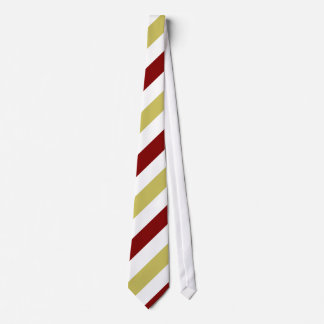 Oro del granate y lazo Diagonal-Rayado blanco Corbatas