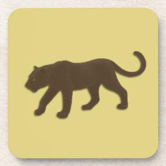Oro del leopardo de la Florida Posavasos De Bebidas