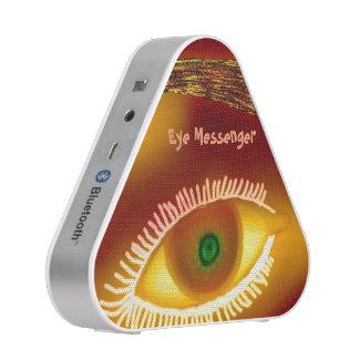 Oro del mensajero del ojo altavoz bluetooth