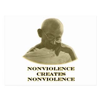 Oro del Nonviolence los regalos de Zazzle del Postales