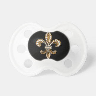 Oro del personalizar de Flor New Orleans de la flo Chupetes
