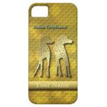 Oro del standW de Iggy para iphone5 iPhone 5 Cobertura