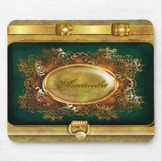 Oro del victorian del vintage tapetes de ratones