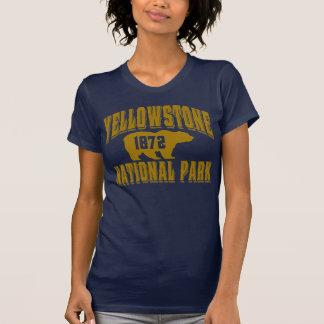 Oro del viejo estilo de Yellowstone Camiseta