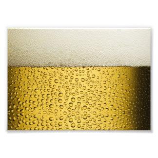 Oro divertido del vidrio de cerveza de las cojinete