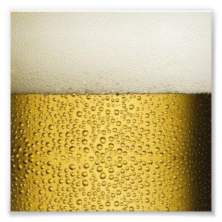 Oro divertido del vidrio de cerveza de las fotografía