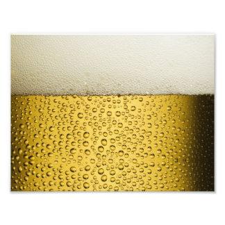 Oro divertido del vidrio de cerveza de las fotografías