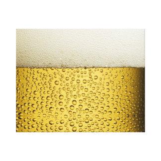Oro divertido del vidrio de cerveza de las impresión en lona