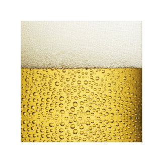 Oro divertido del vidrio de cerveza de las impresiones en lona