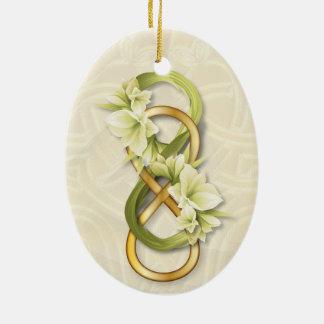 Oro doble y Calily - ornamento del infinito