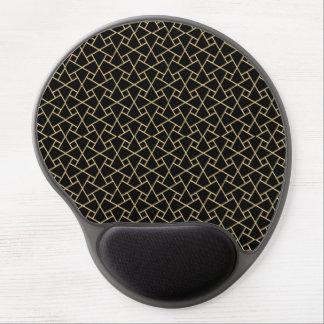 Oro-efecto, gel islámico Mousepad del modelo del n Alfombrilla De Raton Con Gel
