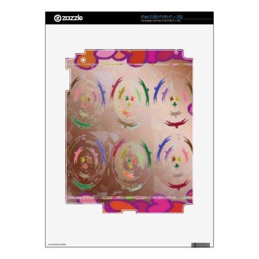 Oro elegante: Danza del cielo de SkyDance de los P Skin Para El iPad 2