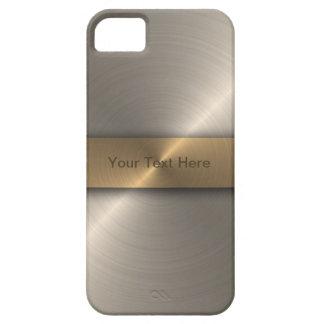 Oro elegante iPhone 5 fundas