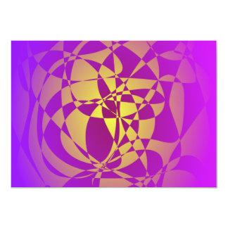 Oro en neblina púrpura anuncios personalizados