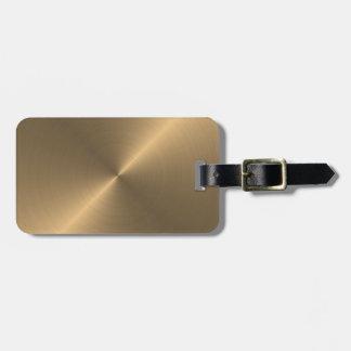 Oro Etiquetas De Equipaje
