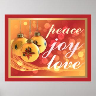 Oro festivo de las bendiciones del navidad del impresiones
