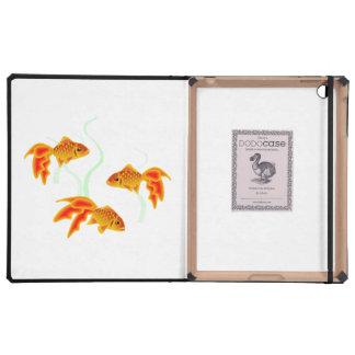 Oro Fishies iPad Fundas
