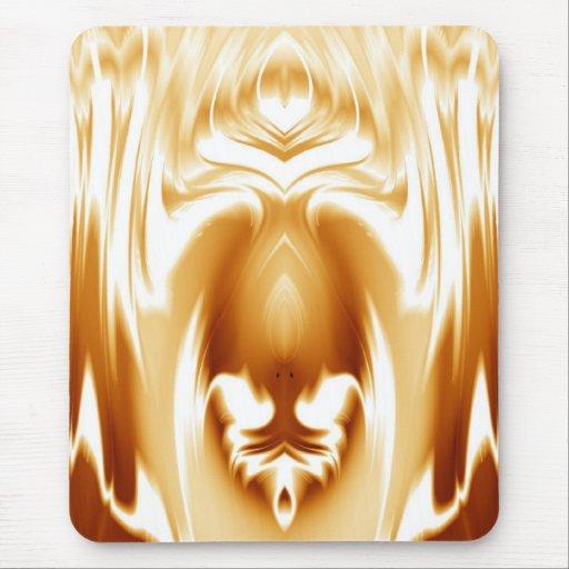 Oro Fuego Mouse Pad