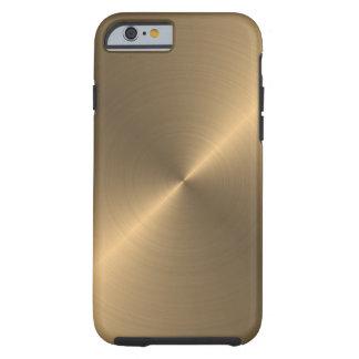 Oro Funda Para iPhone 6 Tough