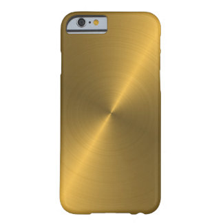 Oro Funda Para iPhone 6 Barely There